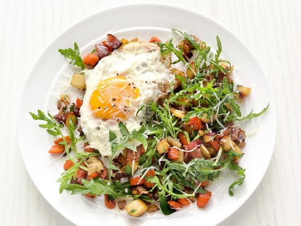Root vegetable salad with fried eggs recipe vegetable salad get root vegetable salad with fried eggs recipe from food network forumfinder Choice Image