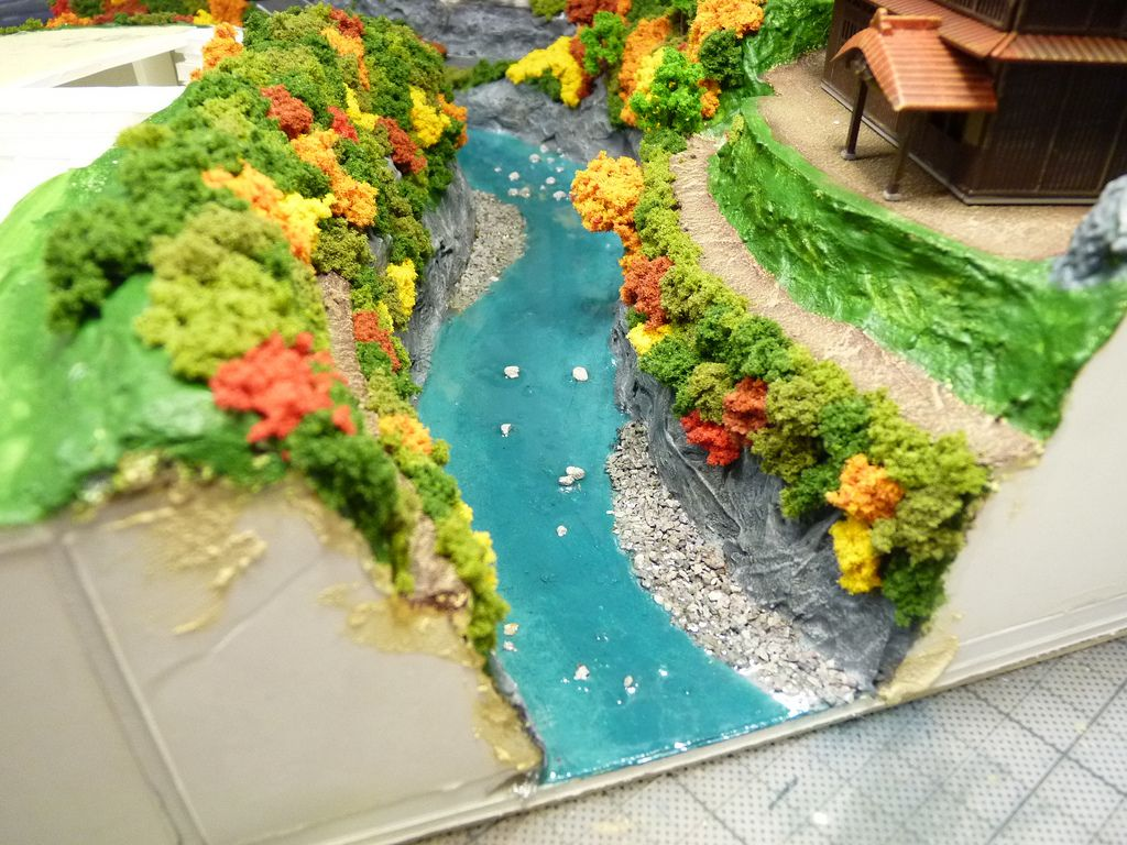 Image Result For Japanese Garden Diorama Water Effect Diorama