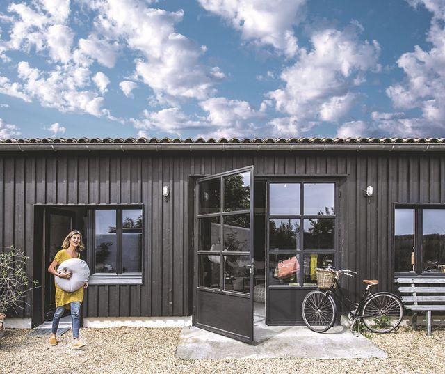 Maison de famille chaleureuse et colorée sur l\u0027ile de Ré Basque - Plan De Construction D Une Maison