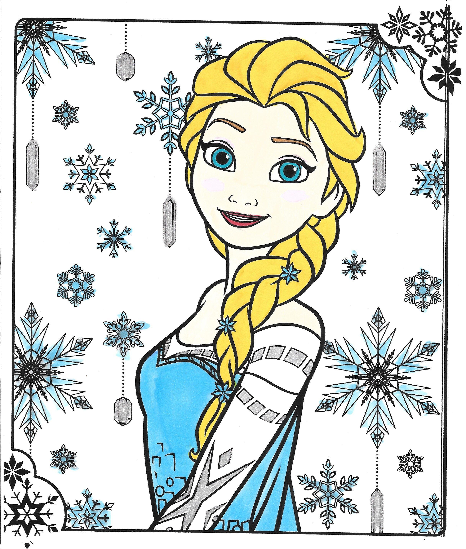 Frozen Snow Queen Elsa Elsa Coloring Pages Frozen Coloring Frozen Coloring Pages