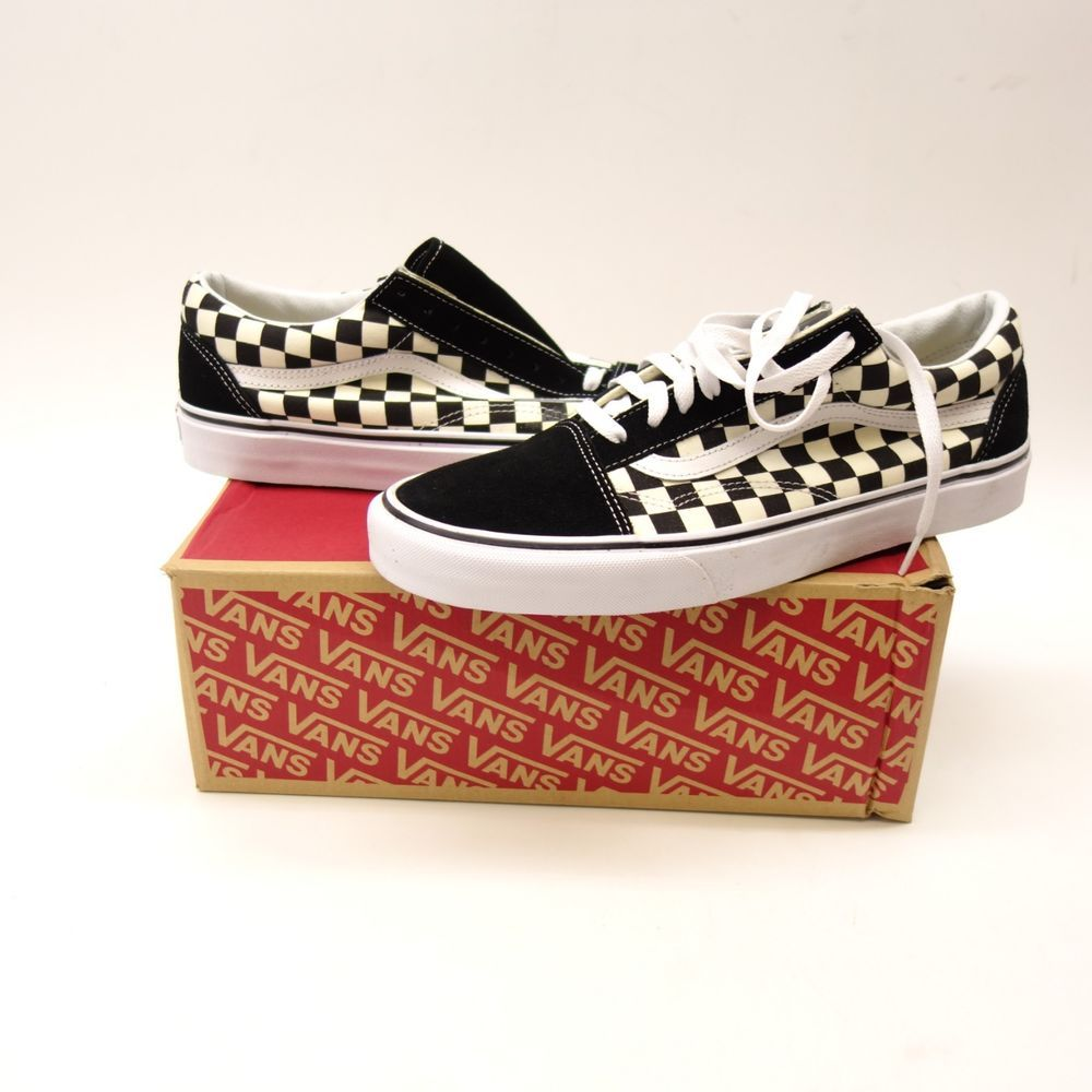 4a0632c78c New Vans Mens Checkerboard Classic Canvas Low Sneaker Shoes Left 11.5 Right  11  VANS  CasualShoes