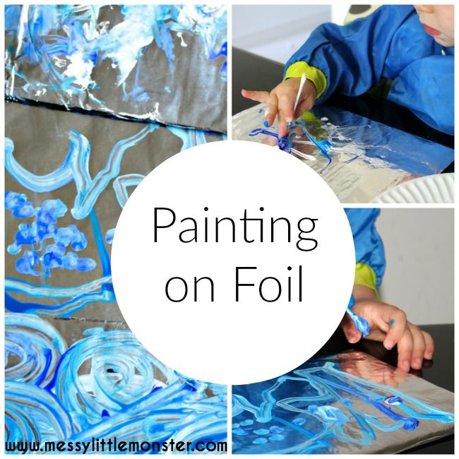 painting+on+foil+for+kids.jpg (650×650)
