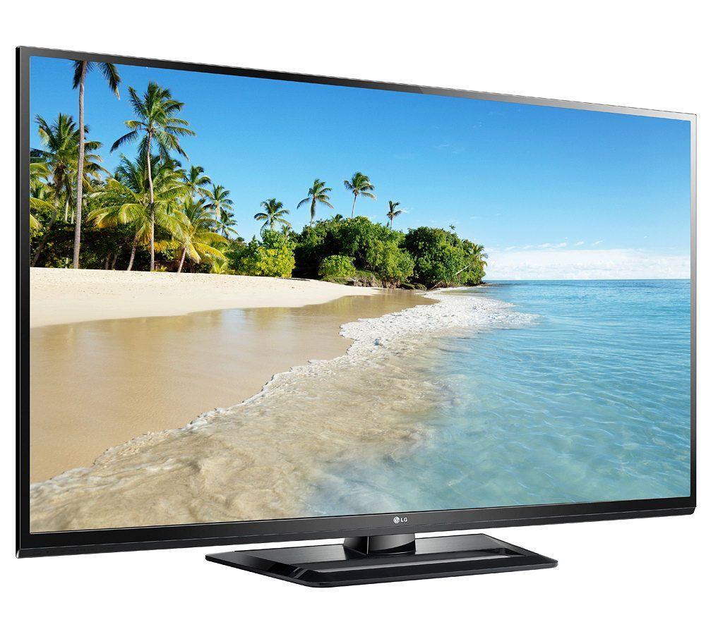 Lg 50 Diagonal 600hz Plasma Tv With Truslim Frame Qvc Com Plasma Tv Outdoor Plasma