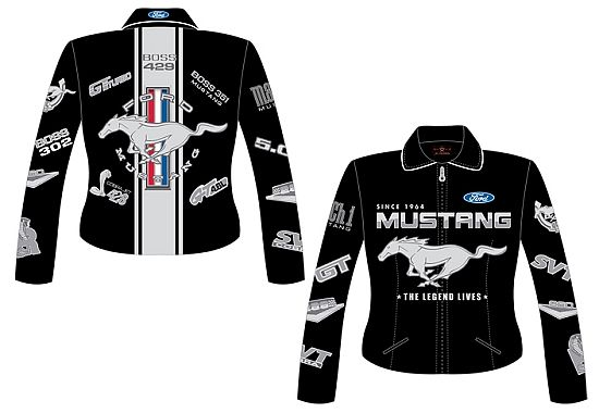 Mustang Leather Jacket For Women 2009 Womens Ford Mustang Black Jh Design Racing Jackets Mus750 Blk Leather Jackets Women Jackets Jackets For Women
