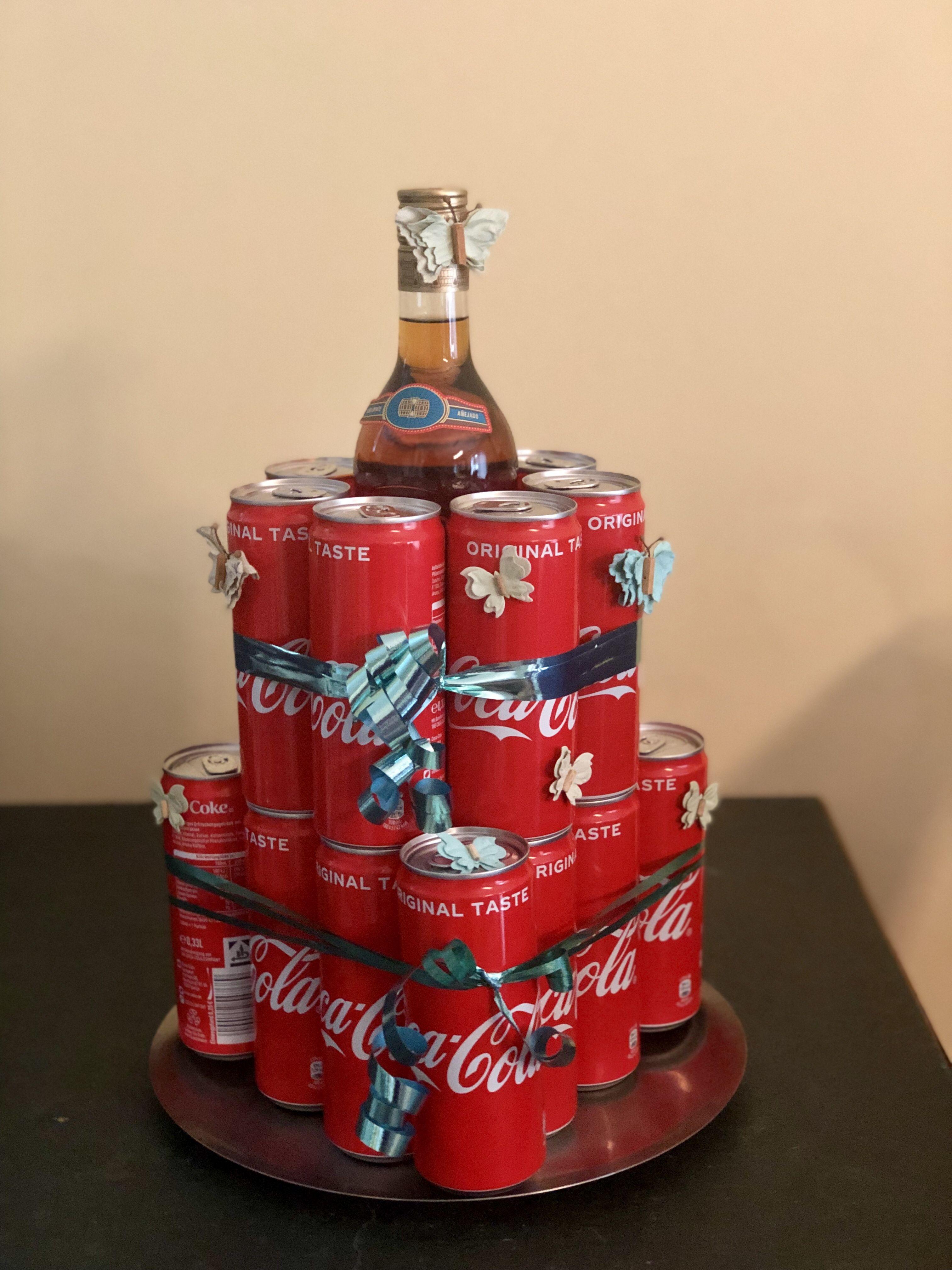 Rum - Cola Torte - das perfekte Geschenk für Männer - Elly