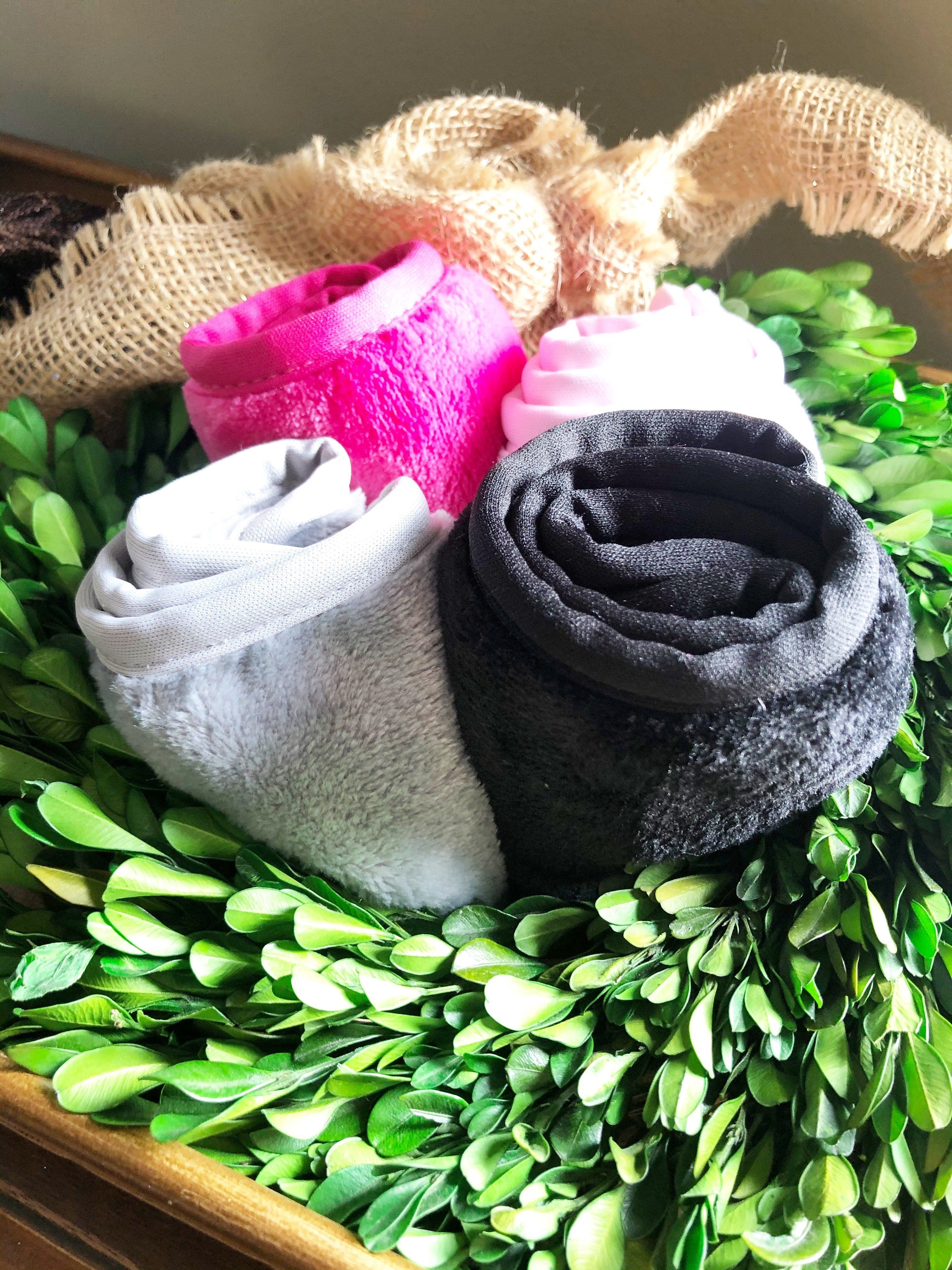 Luxe und Soft Spa Headwraps – Orchidee