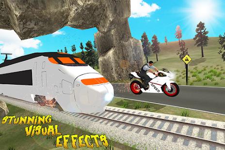 train #super #nitro #bike #race #challenge #racing #3D #android