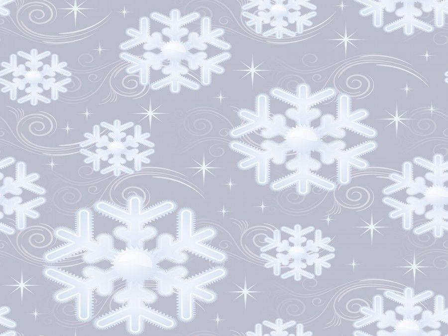 Download Snow Flakes For Christmas Holidays Ppt