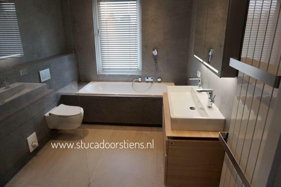 Super luxe badkamer met betoncire in meer dan 60 kleren te krijgen