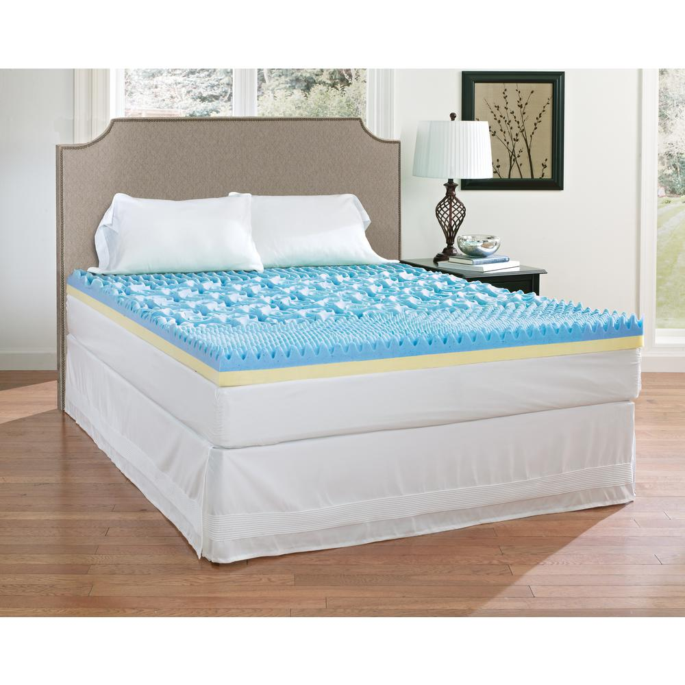 Memory Foam Mattress Topper In 2020 Memory Foam Mattress Topper Foam Mattress Topper Mattress Topper