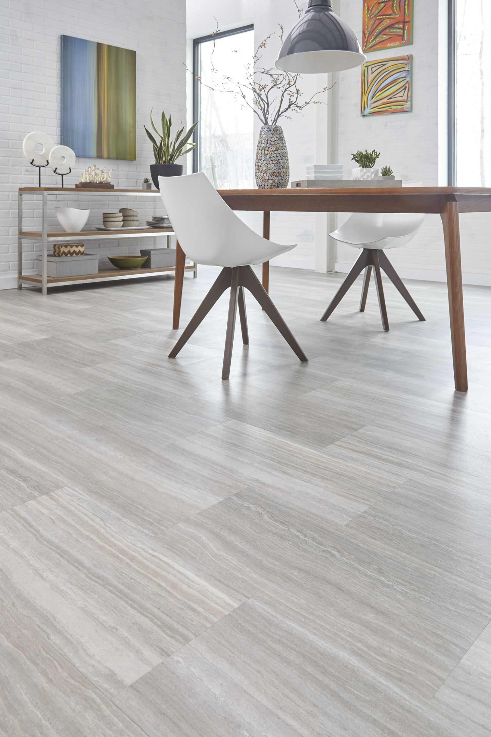 Stainmaster 18 In X 36 In Manor Travertine Luxury Vinyl Tile Grey Vinyl Plank Flooring Tile Floor Living Room Gray Wood Tile Flooring