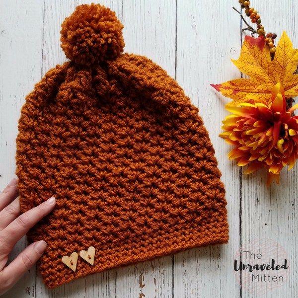 Wildwood Crochet Slouchy Beanie Pattern | Gorro tejido, Tutoriales y ...