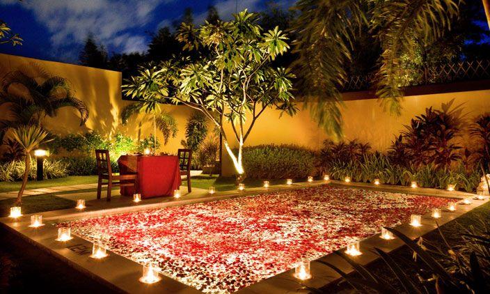 Miss Travel Romantic Dinner Decoration Decor Outdoor Decor