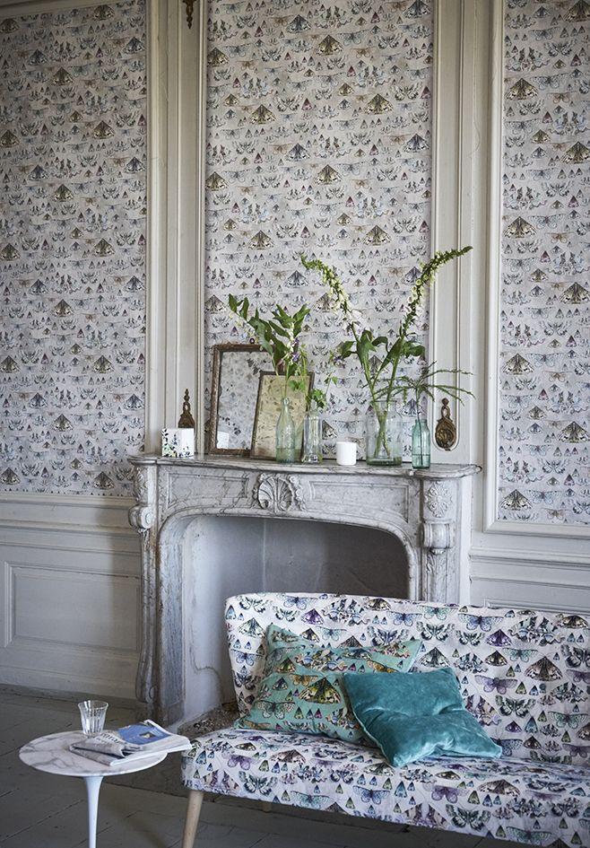 Designers Guild Issoria fabric and wallpaper