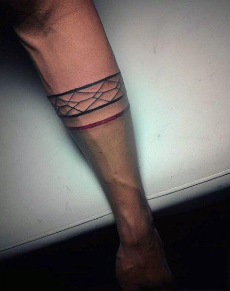 45+ Mens v line tattoos ideas