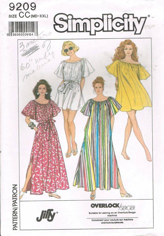 6d96562df9612 Size MD-XXL Misses' Muu Muu Dress Easy by BusyBeaverBoutique ...