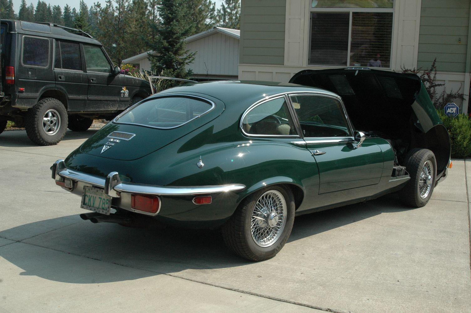 1972 Jaguar E Type Series Iii 2 2 4 Speed