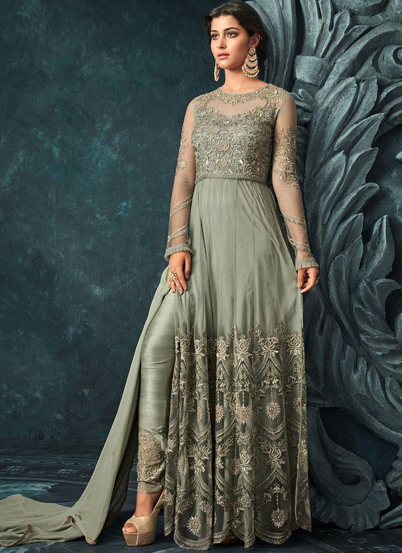 Wedding Wear Anarkali Suit Mexi Dress Gown Indian Ethnic Designer Salwar kameez