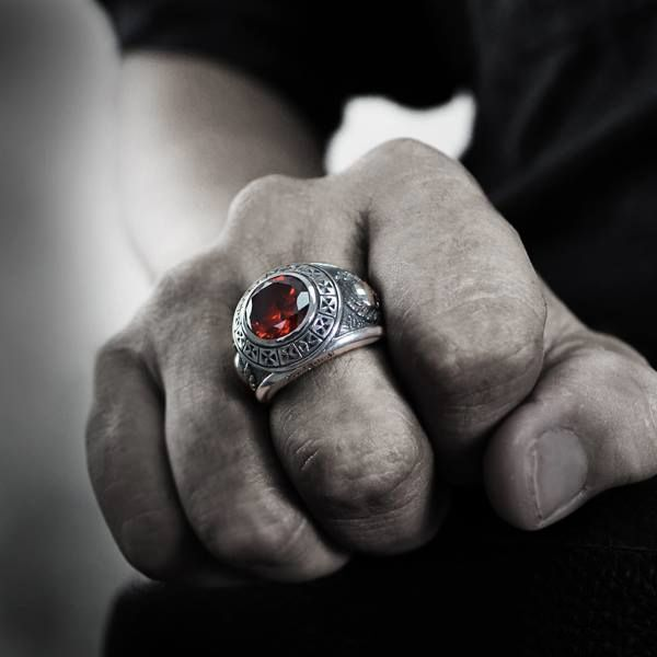 Classical All Carrying Soulfetish Emblem Ring At Once The nkXOP0w8