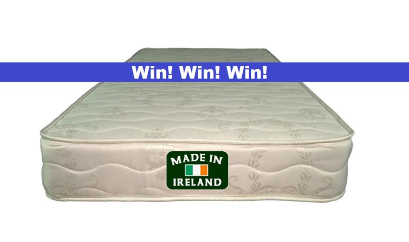 Win an Irishmade, orthopaedic mattress Mattress