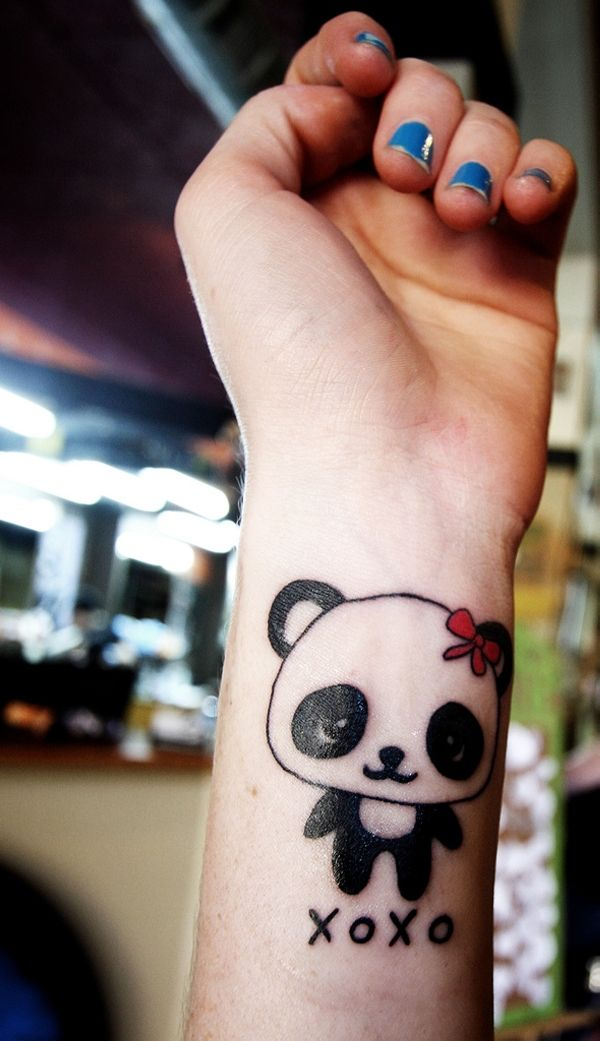 30 Pretty Tattoos You Should Check Today Slodive Panda Tattoo Pretty Tattoos Tattoos For Daughters