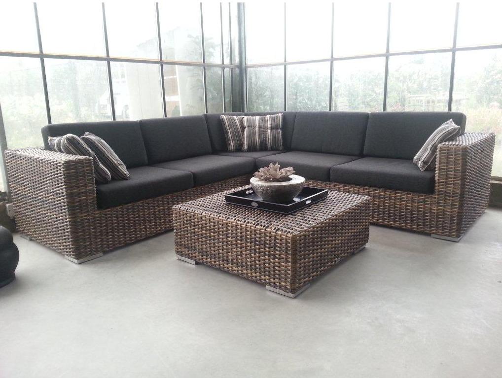 Lounge Set Tuin : Celeste tuinmeubelen corner lounge set monaco tuin meubilair