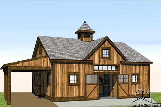 Raleigh Horse Barn Plans