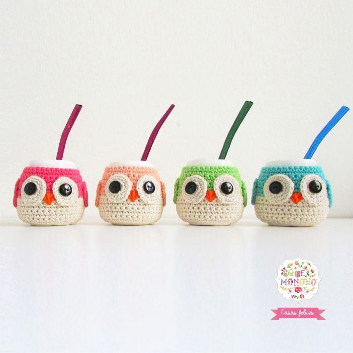 Mate Buho | M. | Pinterest | Crochet, Knit Crochet y Knitting