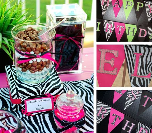 Etsy interview Nancy of A to Zebra Celebrations Zebra birthday