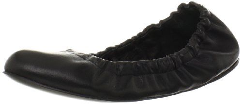 #saucy See By Chloe Women's Stretch Ballet Flat,Black,37.5 EU/7.5 M US