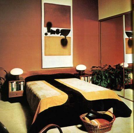 70s bedroom