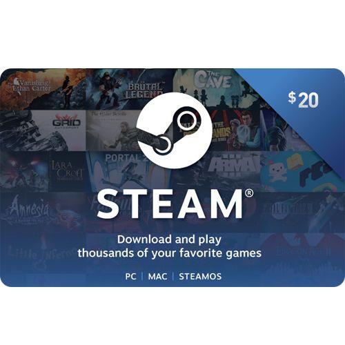 Steam (Valve) Digital Wallet Code 20 / 50 / 100 Fast