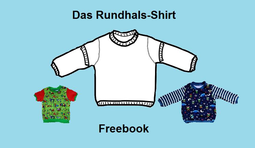 Freebook Tutorial Schnittmuster Baby Rundhals Shirt   Schnittmuster ...
