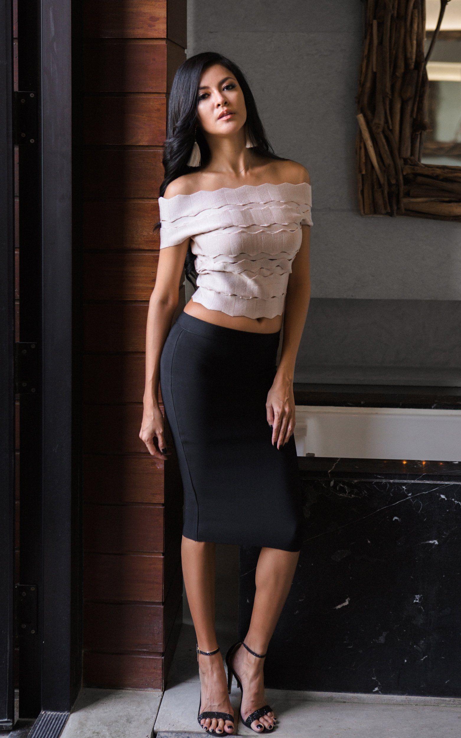 Sassy Mesh Two Piece Bandage Dress (XS) | The Kewl Shop