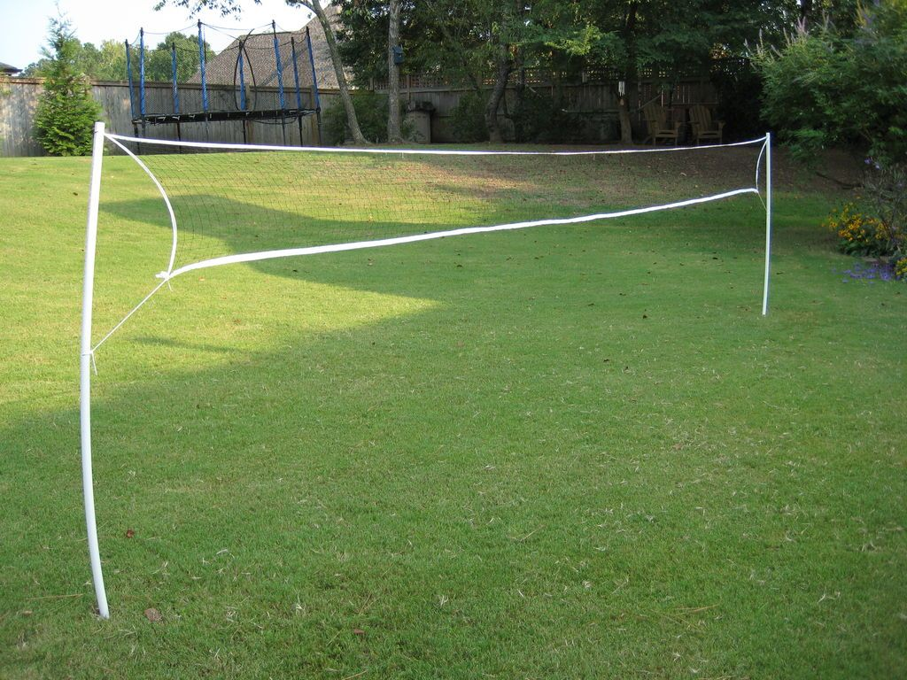 Wireless Pvc Badminton Volleyball Net Volleyball Net Backyard Summer Outdoor Games