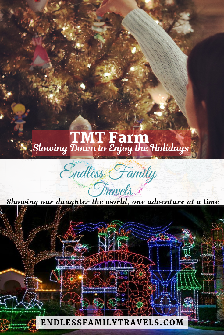 The annual TMT Farm Christmas Lights DriveThru