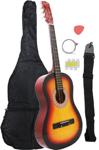 38 Sunlike Guitar With Carrying Bag And Accessories Guitar Best Acoustic Guitar Cheap Guitars For Sale