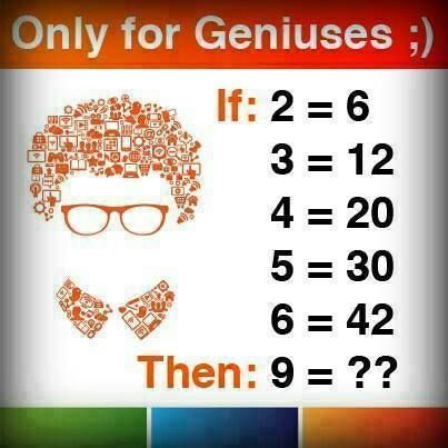 Only for Genius. #IQTest #BrooklynCentralUniversity ...