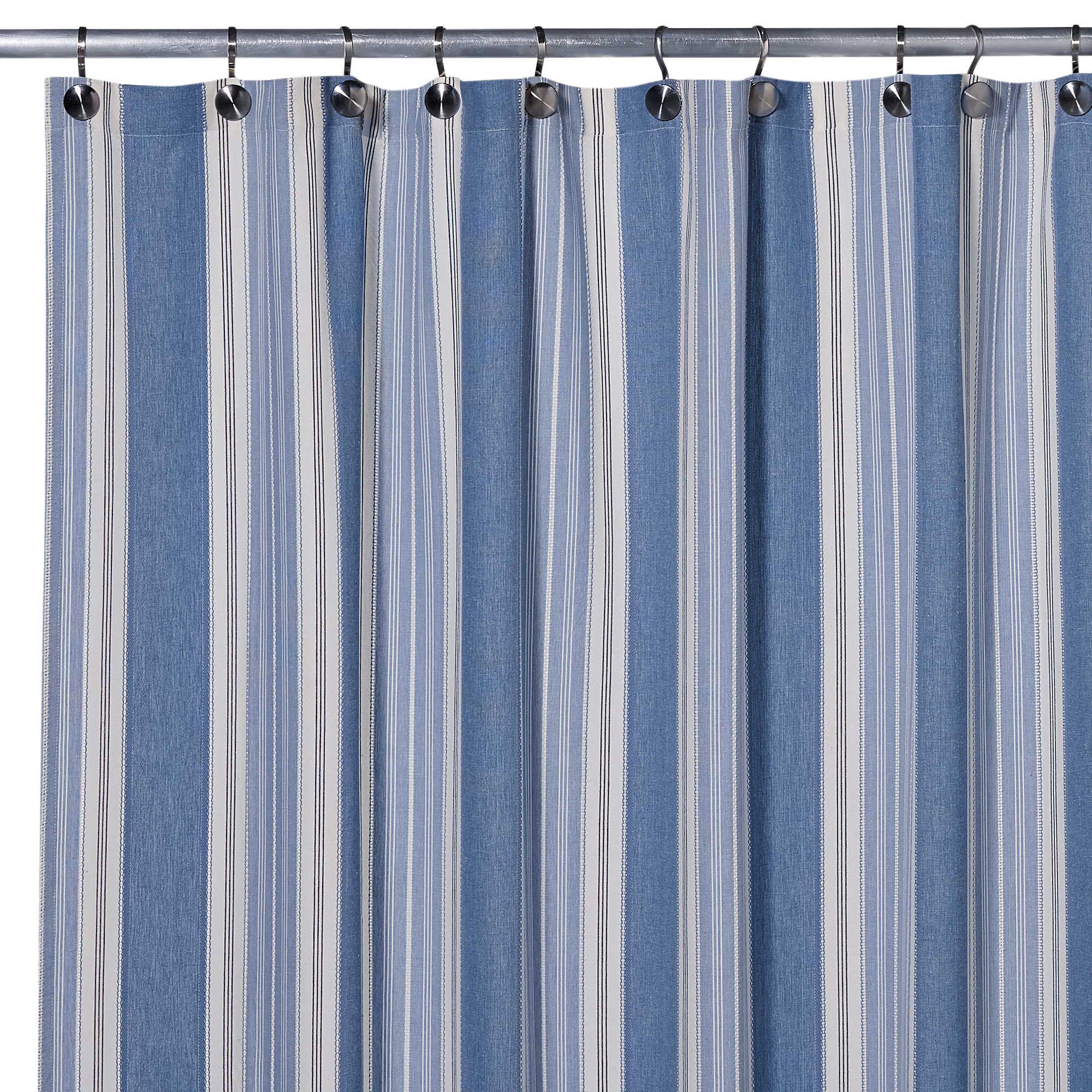 Blue Savannah 72 Inch X 96 Inch Shower Curtain