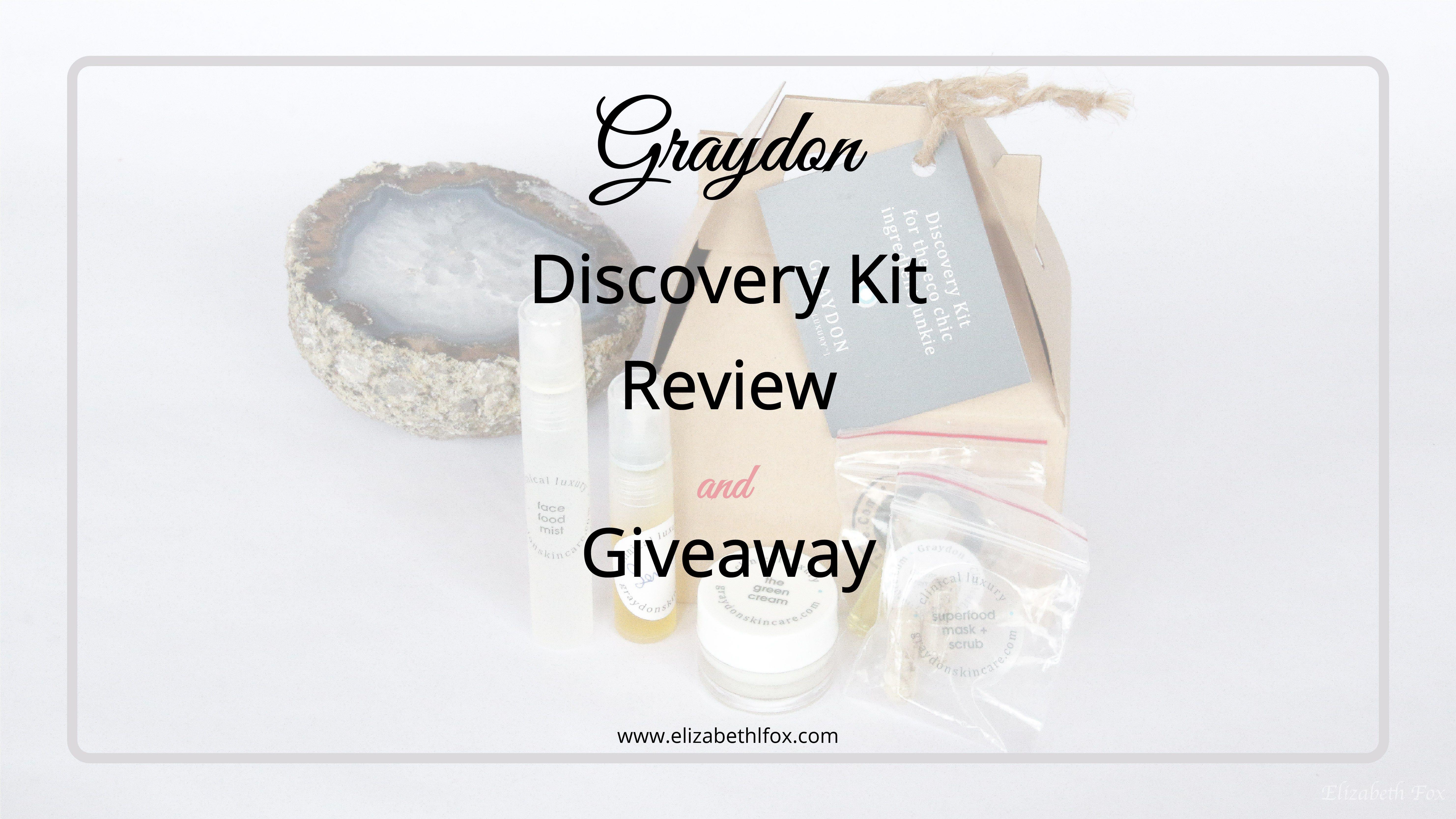 Graydon Discovery Kit Discovery kit, Giveaway, Kit