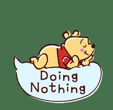Animated Winnie the Pooh Speech Balloons sticker #14904619