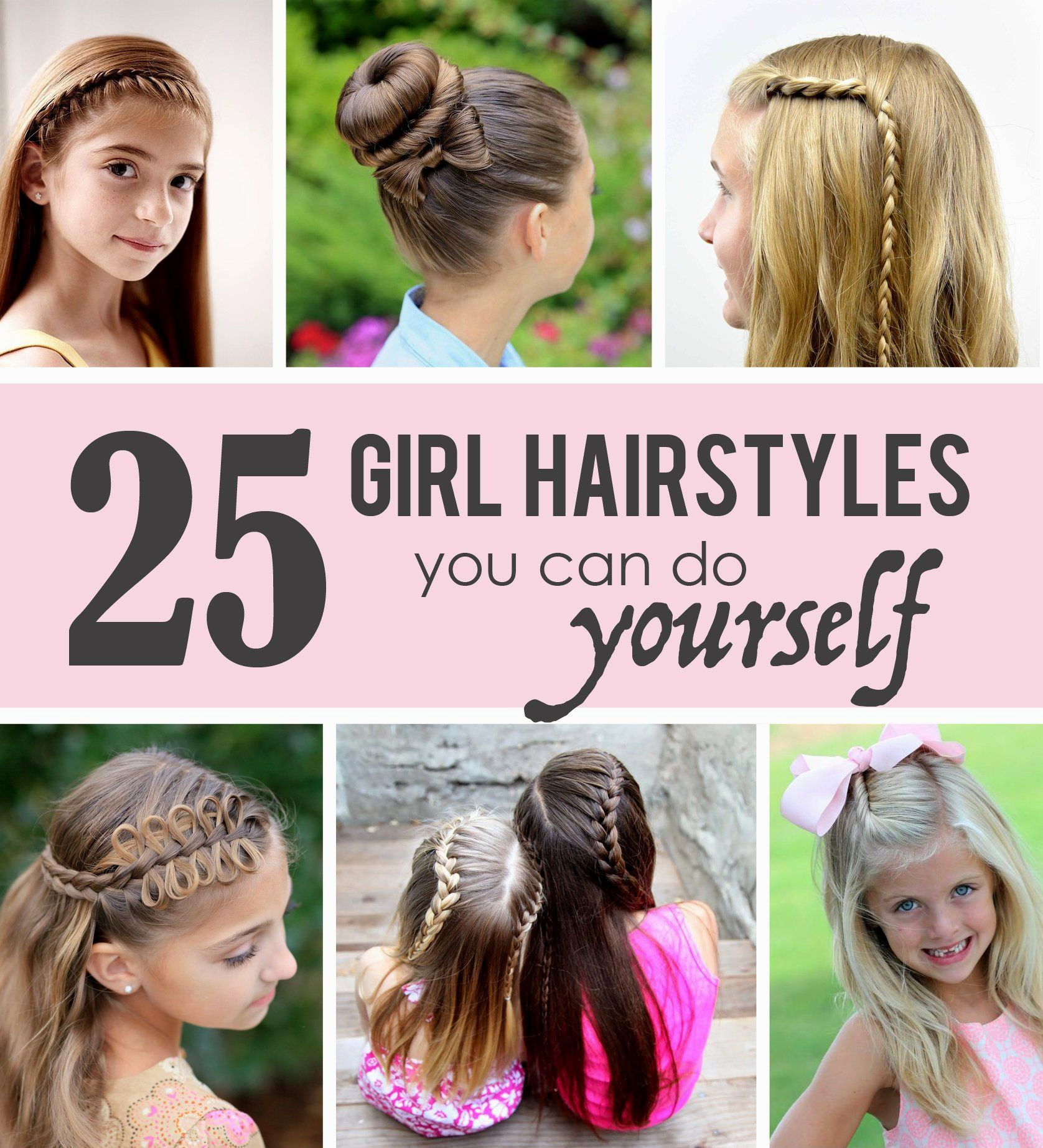 cute hairstyles kids can do   hairstyles   little girl