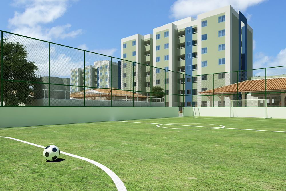 Quadra de esportes. www.aceengenhariase.com.br