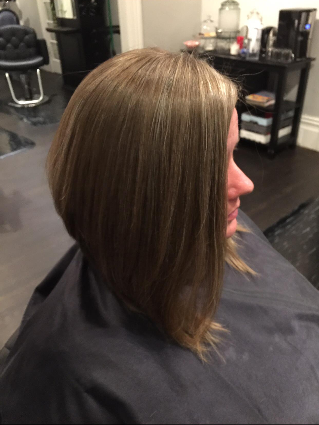 women's haircut $50 exaggerated a-line bob haircut | hair