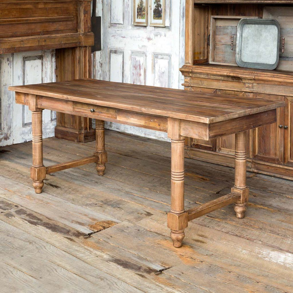 Farm Table with Drawers Large farmhouse dining table