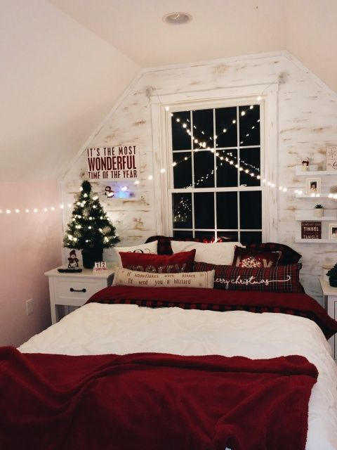 Vsco Britneyeckman Images Christmas Decorations Bedroom Holiday Room Holiday Room Decor
