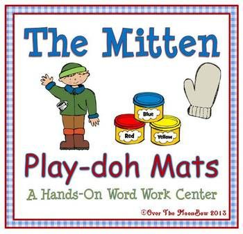 Your students will love these literature themed playdoh mats that will help them learn vocabulary and develop their fine motor skills!