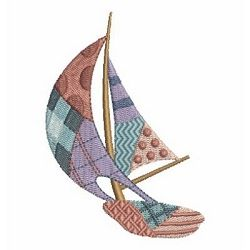 Creative Patchwork 8 - 4x4   Boats   Machine Embroidery Designs   SWAKembroidery.com Ace Points Embroidery