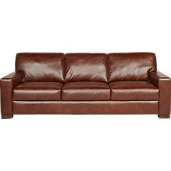 Excellent Vicario Brown Leather Sofa Living Room Leather Sofa Creativecarmelina Interior Chair Design Creativecarmelinacom