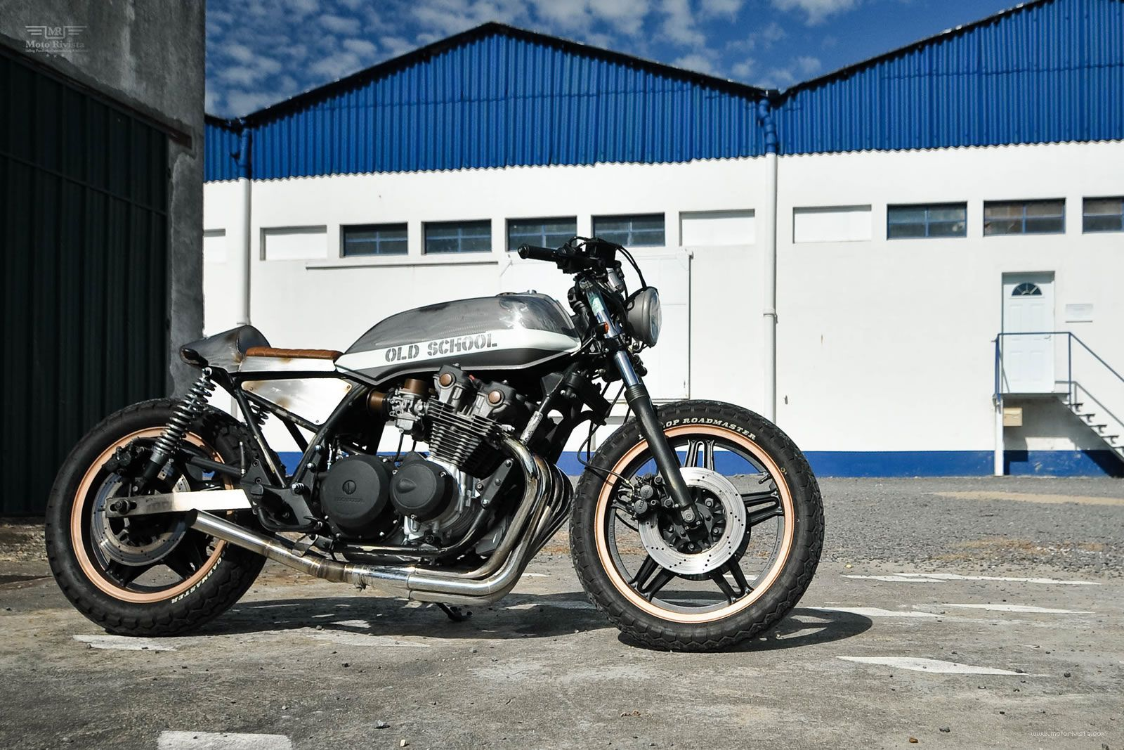 Envisaging and witnessing the transformation from stock to this honda custom cb900 is the biggest reward